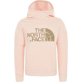 The North Face Drew Peak Capuchon Jas Meisjes, pink salt